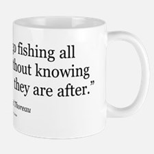Thoreau Quote Gear Mug