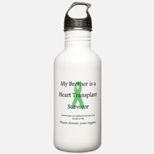 Brother Heart Transplant Water Bottle