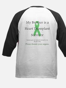 Brother Heart Transplant Kids Baseball Jersey
