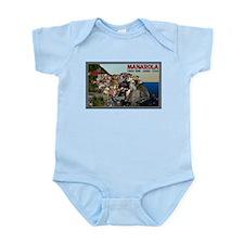 Manarola Town Infant Bodysuit