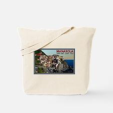 Manarola Town Tote Bag