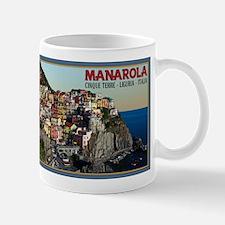 Manarola Town Mug