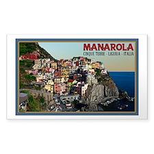 Manarola Town Decal