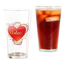 Arlene Valentines Drinking Glass