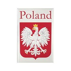 Poland Rectangle Magnet