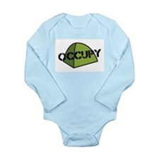 Occupy Tent Long Sleeve Infant Bodysuit