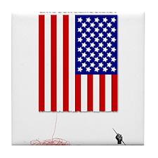 Occupy Flag Tile Coaster