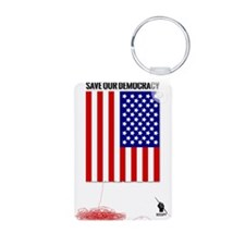 Occupy Flag Keychains