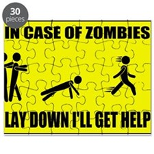 In Case of Zombies Lay Down I Puzzle