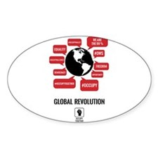 Occupy Planet Decal