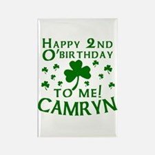 Personalized for CAMRYN Rectangle Magnet