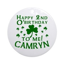 Personalized for CAMRYN Ornament (Round)
