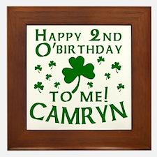 Personalized for CAMRYN Framed Tile