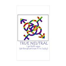 True Neutral Decal
