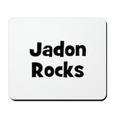 Jadon Rocks Mousepad