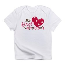 1st Valentines Day Heart Infant T-Shirt