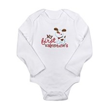 1st Valentines Day Puppy Baby Outfits
