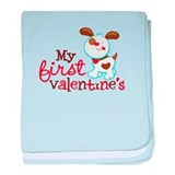 Valentines day Baby Blankets