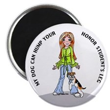 Wire Fox Terrier Honor Student Magnet