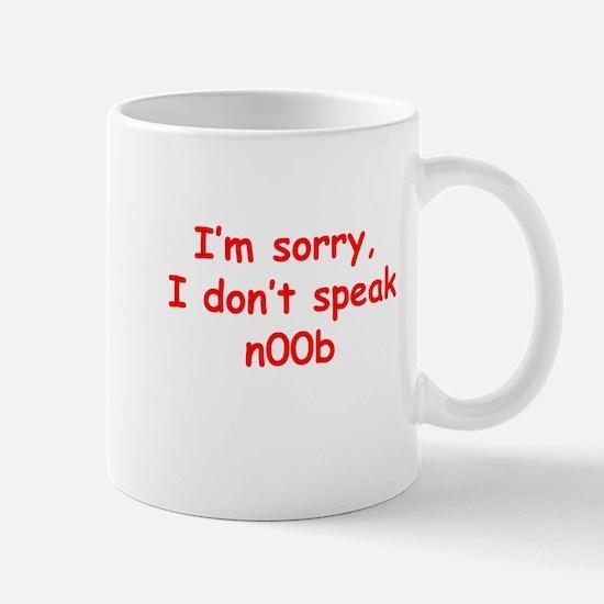 I don't speak n00b Mug