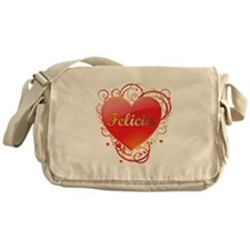 Felicia Valentines Messenger Bag