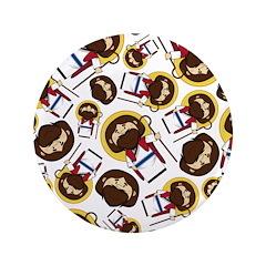 "Cute Jesus Christ 3.5"" Button (100 Pk)"