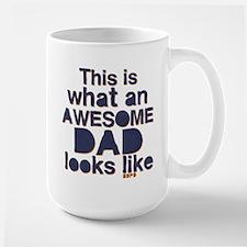 Awesome Dad Large Mug