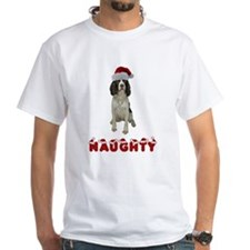 Naughty Springer Spaniel Shirt