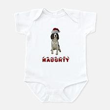 Naughty Springer Spaniel Infant Bodysuit