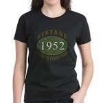 Vintage 1952 Retro Women's Dark T-Shirt