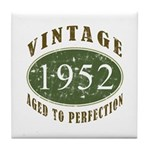 Vintage 1952 Retro Tile Coaster