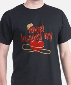 Angel Lassoed My Heart T-Shirt