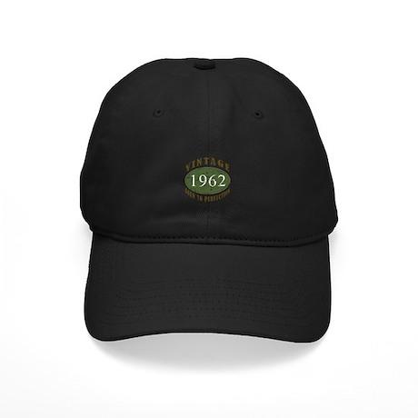 Vintage 1962 Retro Black Cap
