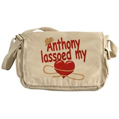 Anthony Lassoed My Heart Messenger Bag