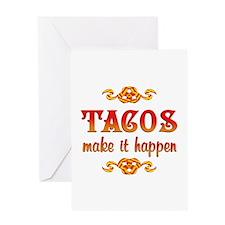 Tacos Greeting Card