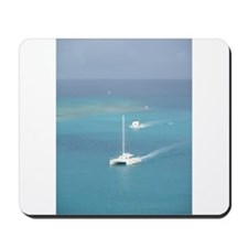 Boats on The Water Mousepad