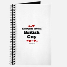 Everyone loves a British Guy - Journal