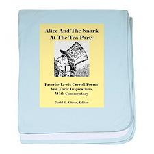 Alice & Snark @ Tea Party baby blanket