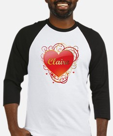 Claire Valentines Baseball Jersey