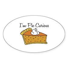 I'm Pie Curious Decal