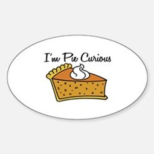 I'm Pie Curious Decal