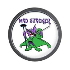 Mad Stacker Wall Clock