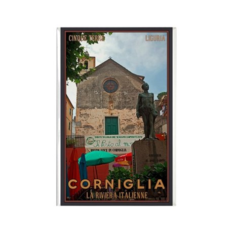 Corniglia Rectangle Magnet (100 pack)