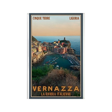 Vernazza Rectangle Magnet (10 pack)