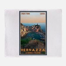 Vernazza Throw Blanket