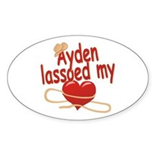 Ayden Lassoed My Heart Decal