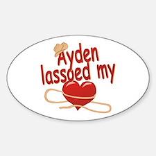 Ayden Lassoed My Heart Decal