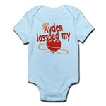 Ayden Lassoed My Heart Infant Bodysuit