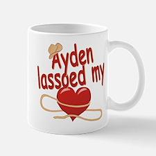 Ayden Lassoed My Heart Mug