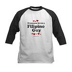 Everyone loves a Filipino Guy -  Kids Baseball Jer